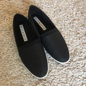 Kelly & Katie slip-on black shoes - Size 7